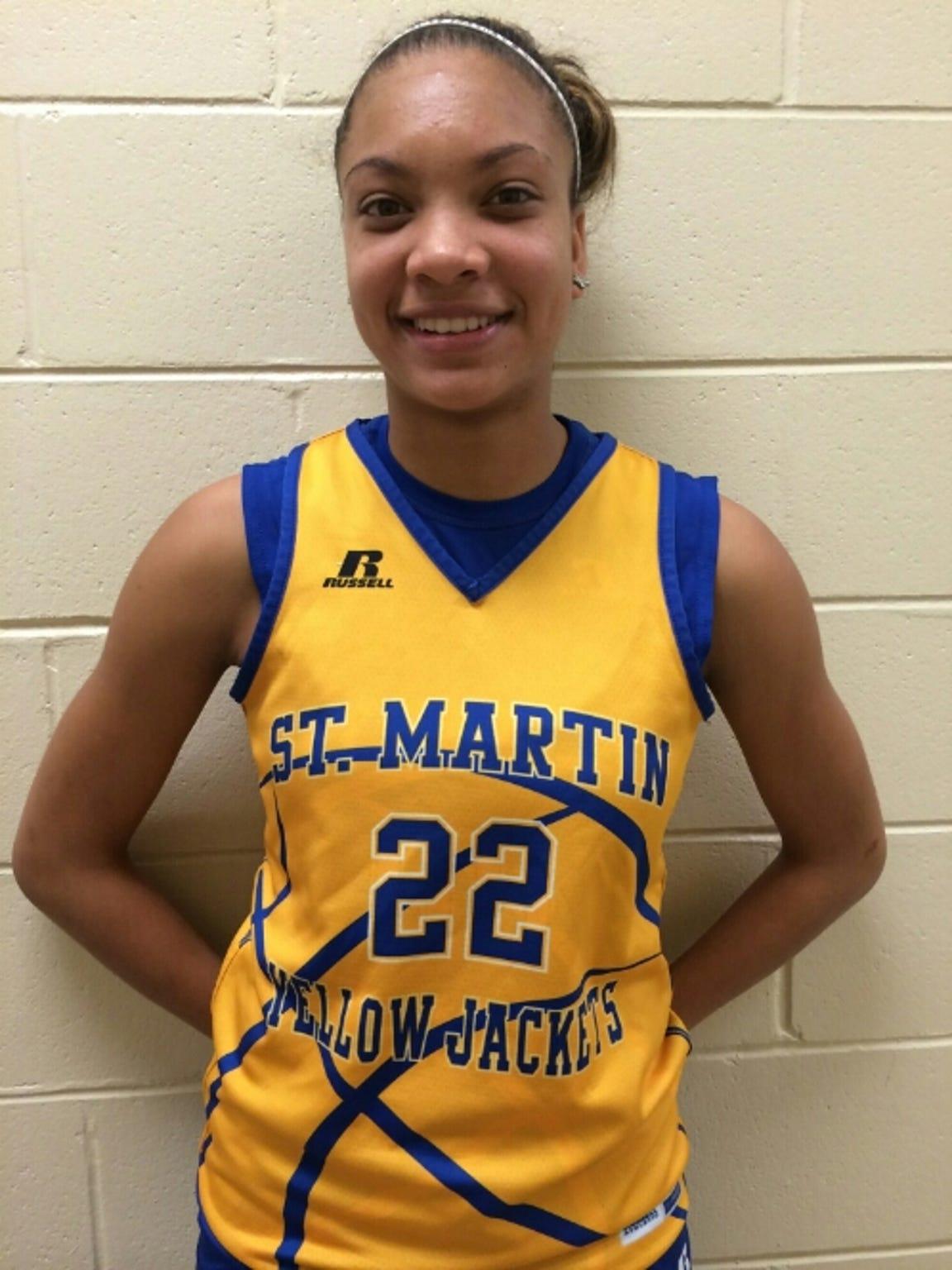 St. Martin guard Savannah Jones