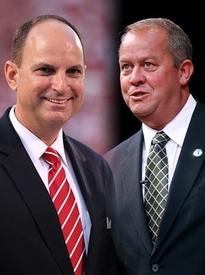 Oklahoma athletic director Joe Castiglione and Michigan State athletic director Mark Hollis have helped to create multiple successful revenue sports.
