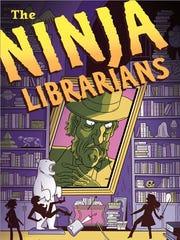 Ninja Librarians book cover