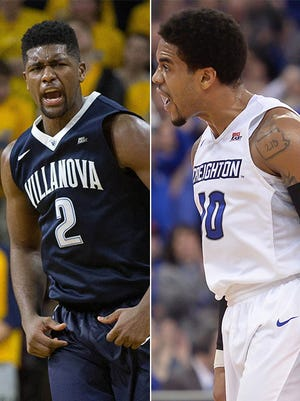 Which team loses first? Both Big East teams Villanova and Creighton haven't lost in 2016-17. That changes soon.