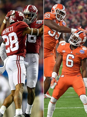 The Crimson Tide and Tigers square off with the national championship on the line.