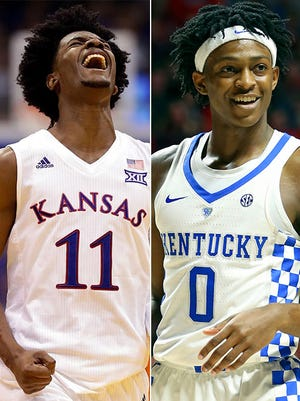 Josh Jackson, left, and De'Aaron Fox, right, are two of the best freshmen in the country.