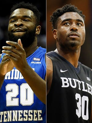 Middle Tennessee State and Butler square off with a trip to the Sweet 16 on the line.