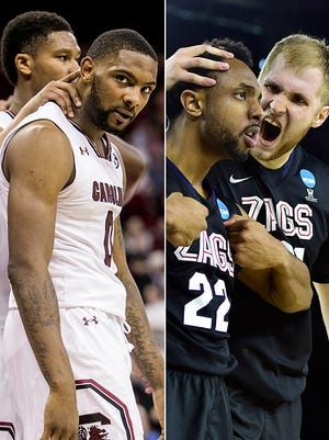 South Carolina and Gonzaga both are defensively tough teams.
