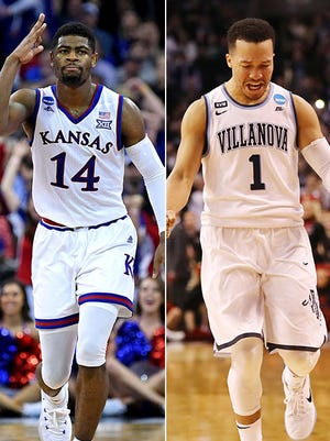 Kansas' Malik Newman and Villanova's Jalen Brunson have both carried their teams to the Final Four.