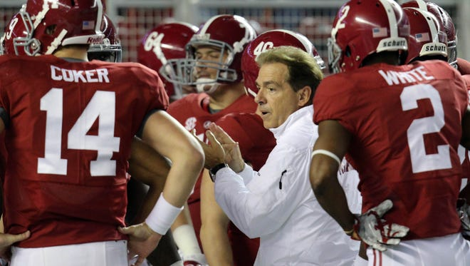Nick Saban and Alabama again are expected to be Playoff contenders this season.