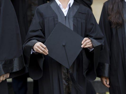 Graduation Presto cap gown