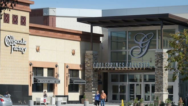 CoolSprings Galleria will be closed on Thanksgiving Day this year but stores and restaurants with exterior entrances have the option to open.