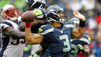 Seahawks QB Russell Wilson won his first matchup with New England in 2012.