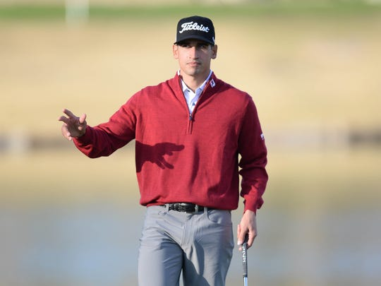 Dom Bozzelli will compete this week in the Farmers Insurance Open at historic Torrey Pines in La Jolla, California.