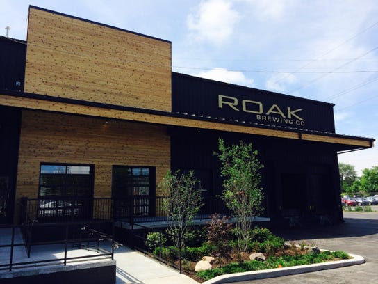 ROAK Brewing Co. recently opened the taproom at its