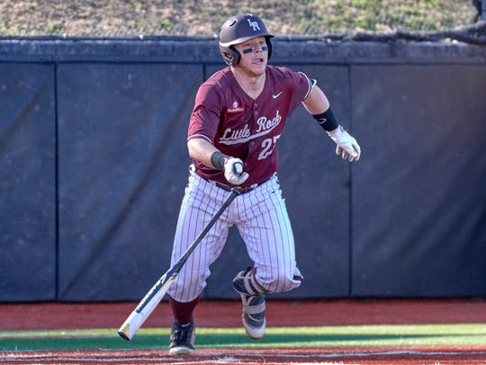 Calallen grad and University of Arkansas-Little Rock catcher Kale Emshoff has become a key part of the Trojans' team and is considered one of the best catchers in the Sun Belt Conference.