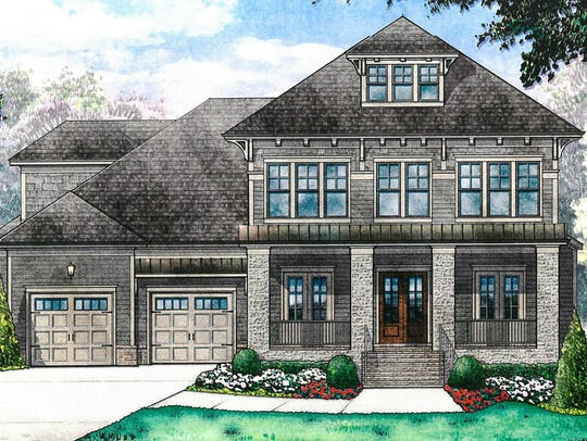 This spec home at 508 Rochester Close in Franklin is