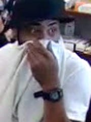 Anyone who knows this man, wanted for a recent armed robbery, is asked to contact Westland Police.