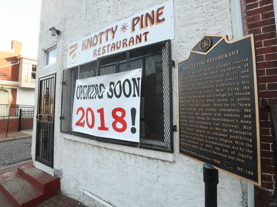 Wilmington's Knotty Pine restaurant, closed for several