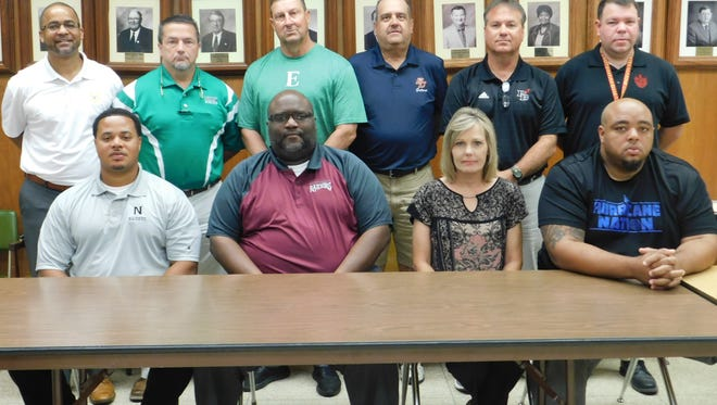 St. Landry public school coaches held their annual jamboree meeting Monday.