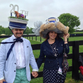 A rainy day on the paddock didn't stop the fun at the 20th annual Queen's Cup Steeplechase in Mineral Springs.