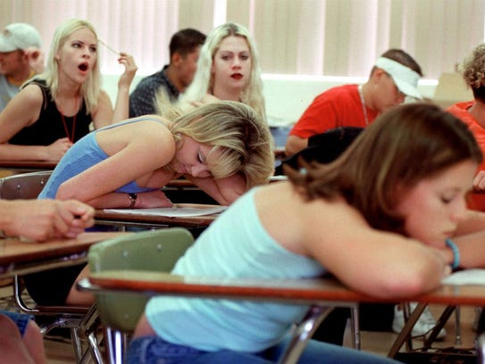 Sleepiness negatively affects high school students'