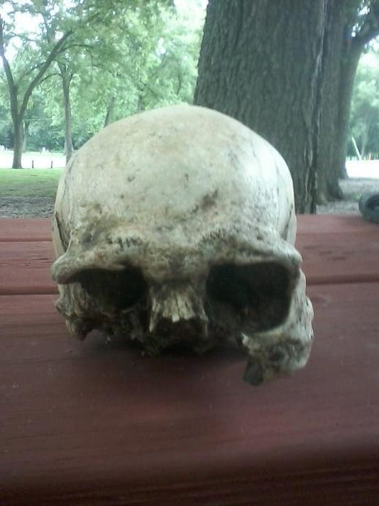 skull found in Sac County