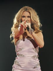 Celine Dion performs at the Bradley Center on Sept.