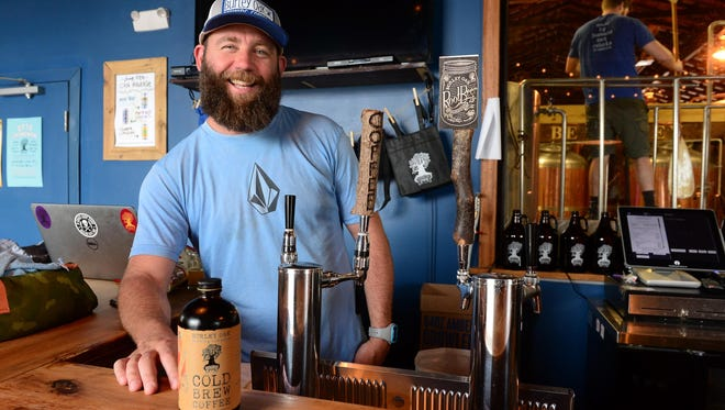 """Bryan Brushmiller and Burley Oak Brewing Company will be opening a new location soon called """"The Brewers Cafe"""" located on Jefferson Street in downtown Berlin. Wednesday, May 31, 2017."""
