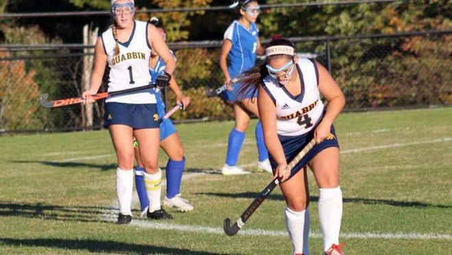 Quabbin Regional senior Alexa Siciliano (4) will study Athletic Trainng at Springfield College in the fall and plans on trying out for the varsity field hockey team.