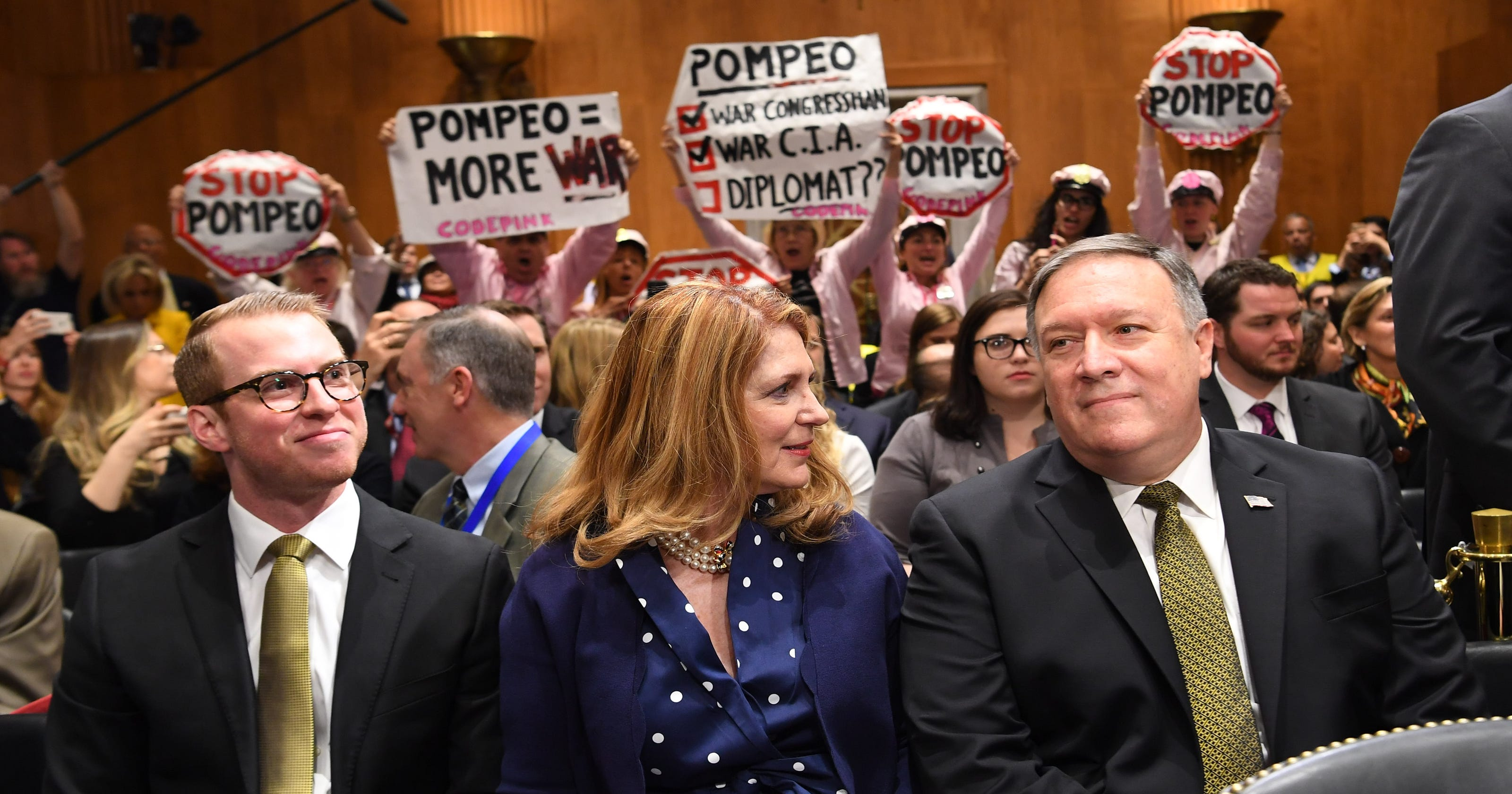 Mike Pompeo: Senate approves CIA director to lead State ...