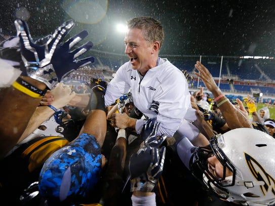 Toledo coach Jason Candle.