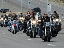 Bikers gather for Bandidos funeral
