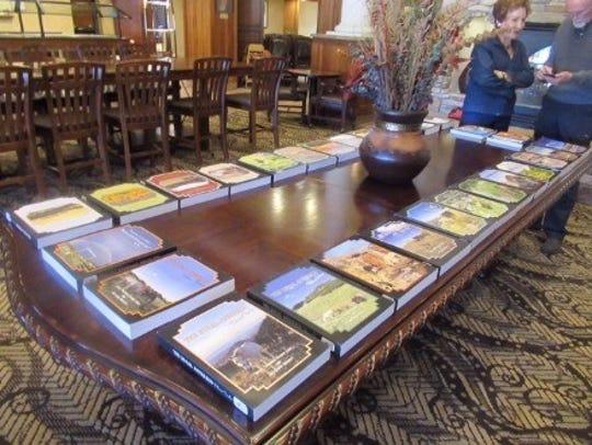 The 14 journal collection in print, Matthew Midgett's