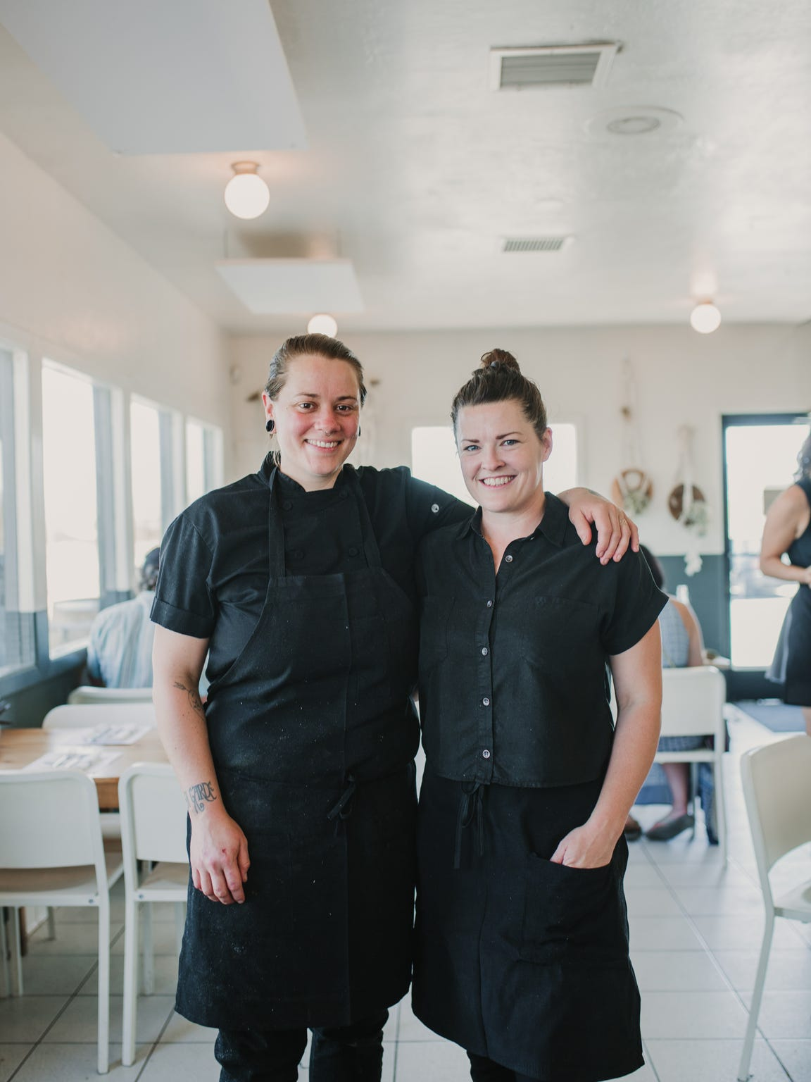 La Copine owners Nikki Hill and Claire Wadsworth