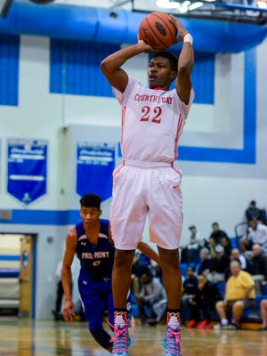 DeAireus Brown had 16 points for York Country Day on Monday vs. Mount Calvary.
