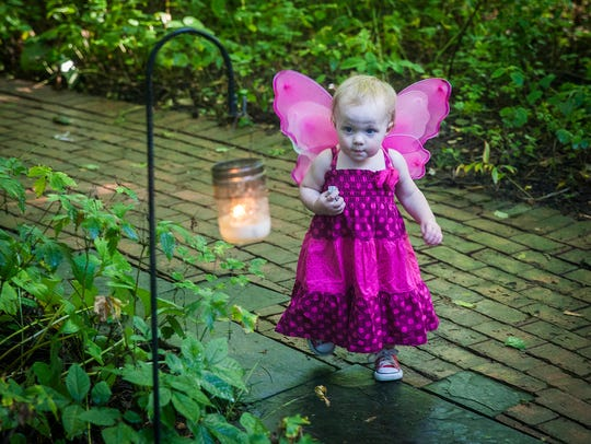 Minnetrista's Faeries, Sprites and Lights event.