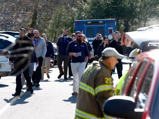 Lester Glenn Chrysler / Dodge / Jeep evacuate their