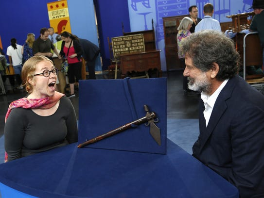"Top-rated PBS series ""Antiques Roadshow"" will be in"