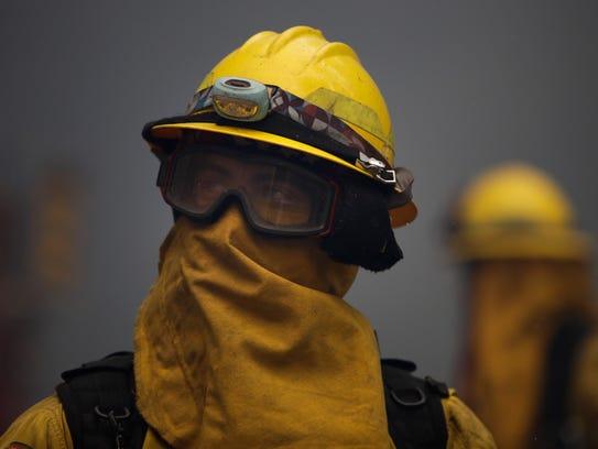 Explicó que los bomberos necesitan concentrarse en