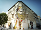 The façade of the building will offer murals in an