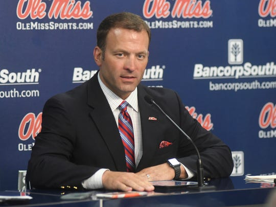 Ole Miss athletic director Ross Bjork is in favor of the Egg Bowl being on Thanksgiving.