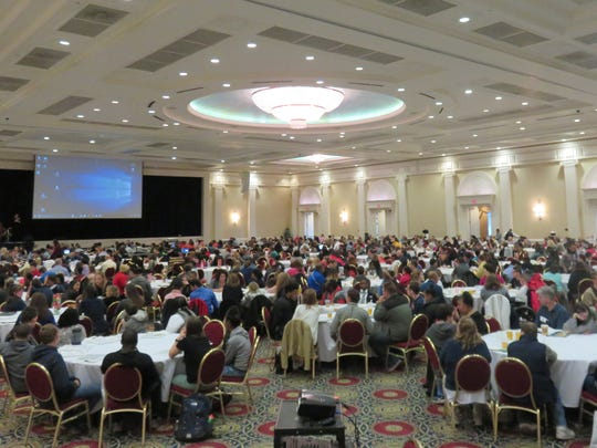 "More than 1,000 people, including 550 students, attended the ""Transition and Self-Determination Conference"" held this month at Dover Downs."