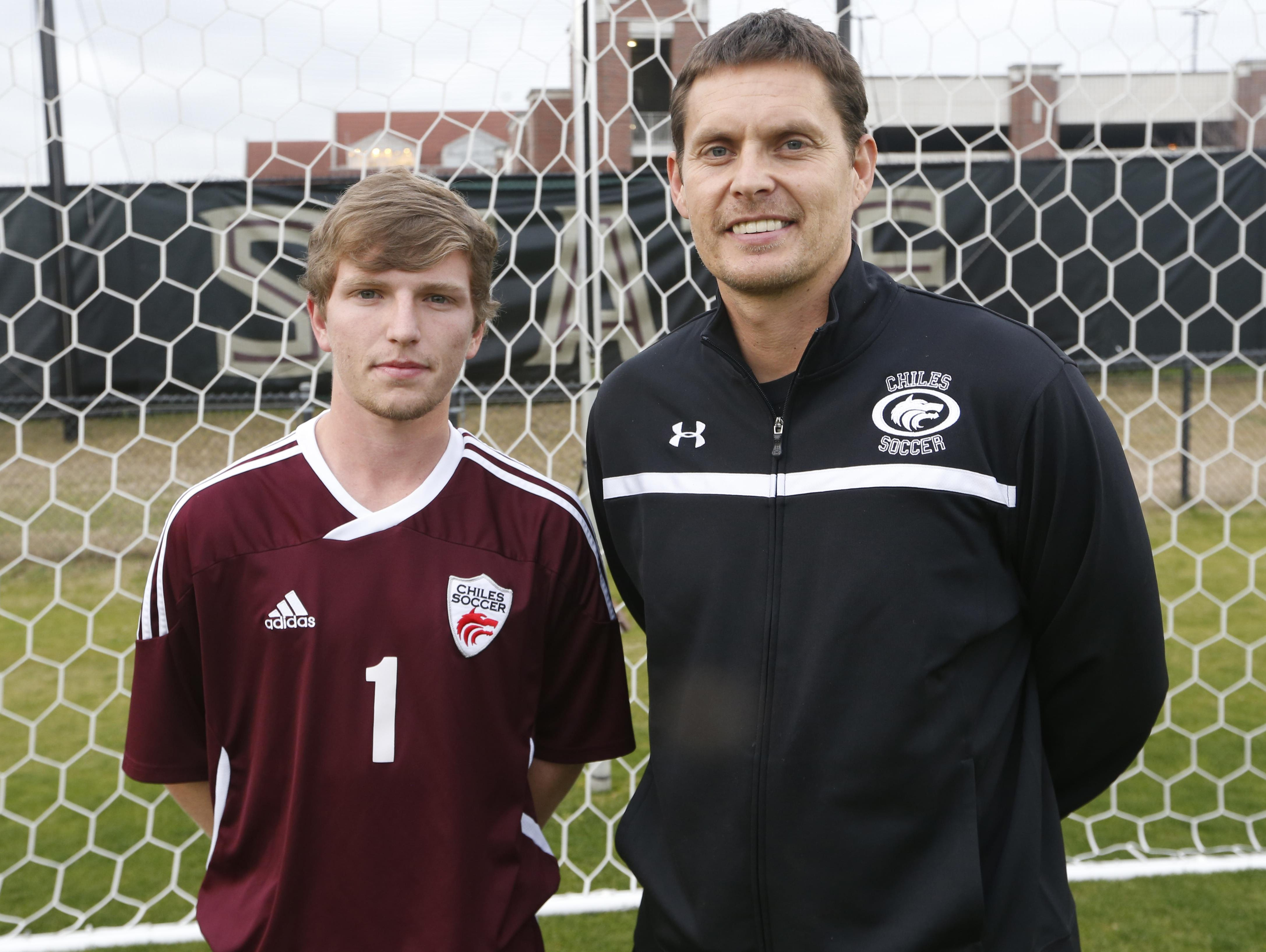 Chiles' Jimmy Gillard was the All-Big Bend Player of the Year last year after scoring 26 goals with 14 assists and helping the Timberwolves achieve a 29-3 season, a state title and a top-10 national ranking. For that reason also Chiles coach Bryan Wilkinson was the All-Big Bend Coach of the Year. The Timberwolves lost 14 seniors off last year's team as they behin their 2015-16 campaign.