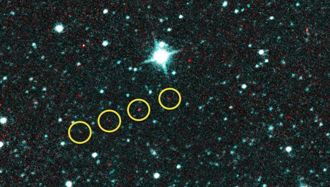 Comet Catalina first appeared to observers as an asteroid.