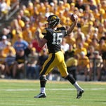 Kirk Ferentz on stretching the defense with vertical passes