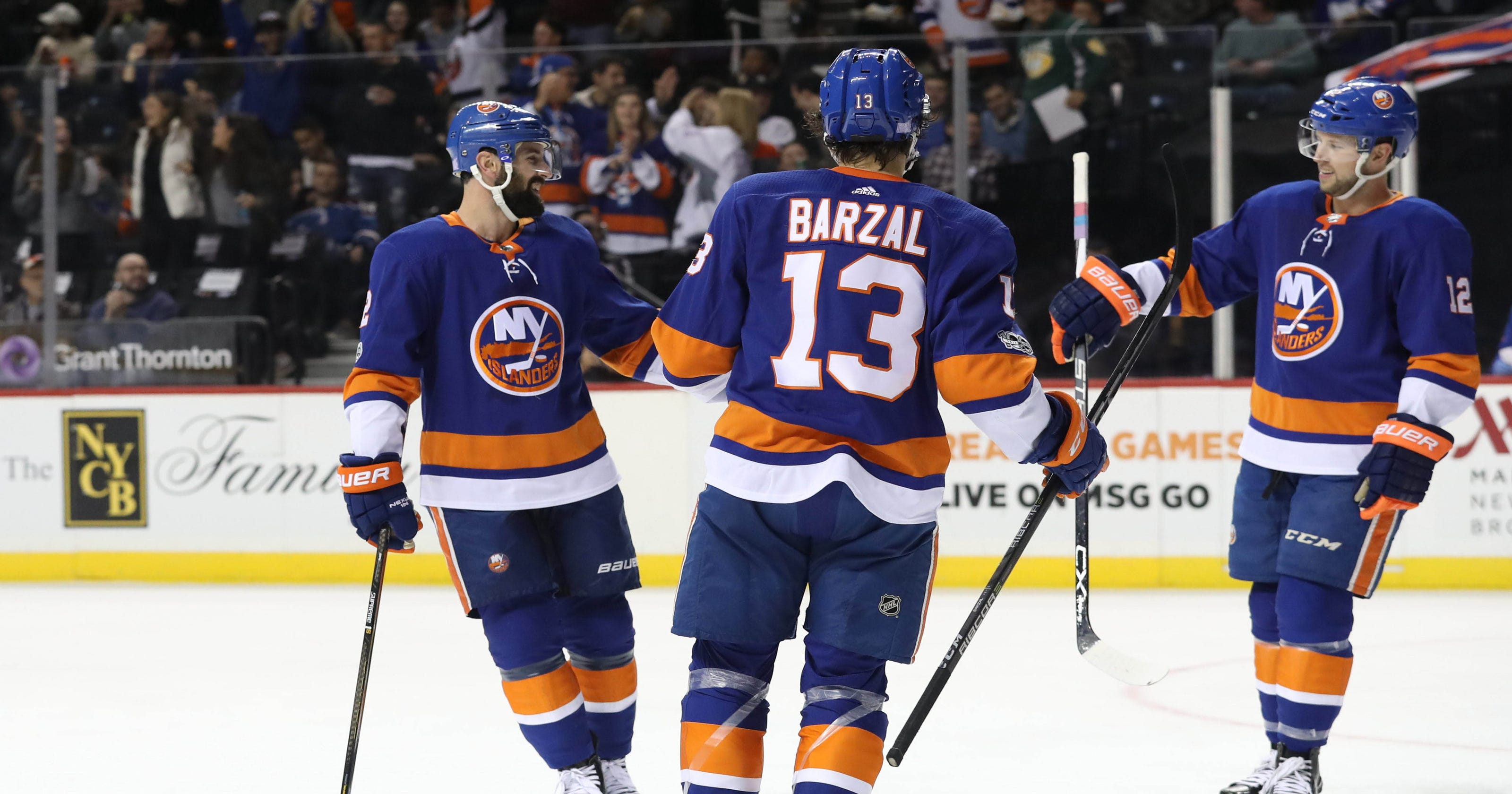 Mathew Barzal sets Islanders rookie assist record in win over Avalanche 9555a16f0