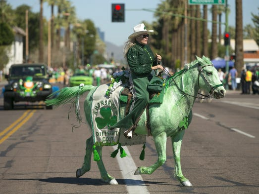 TUCSON ST. PATRICK'S DAY PARADE AND FESTIVAL--  Disfruta