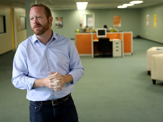 Brendan Heegan, of Boxzooka, is shown in their Secaucus office, Tuesday, July 24, 2018.