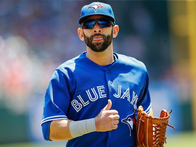 The 2014 MLB All-Star Game will be played Target Field, home of the Minnesota Twins, on July 15. The starters, selected by the fans. AMERICAN LEAGUE -Outfield: Jose Bautista, Blue Jays