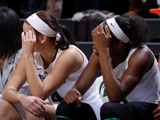 MSU vs Nebraska women's basketball