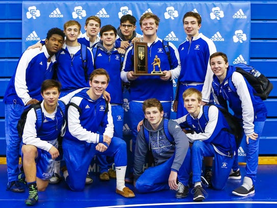 Catholic Central captured its 23rd consecutive league