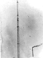 The Tuckerton Tower in 1916.