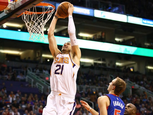 Detroit Pistons .vs Phoenix Suns 2018